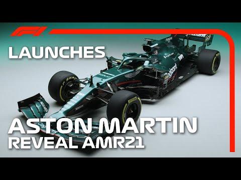 F1 2021 アストンマーティン「AMR21」が世界初公開!動画で見るAMR21 セバスチャン・ベッテルのインタビュー付き