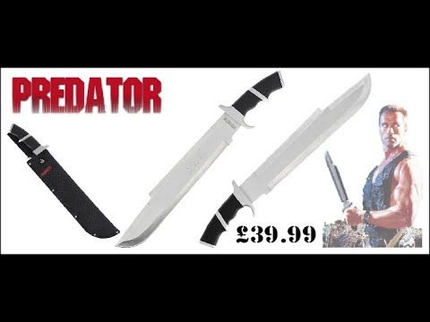 Predator Dutch Machete Review – Predator Movie Knives