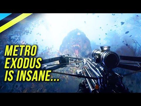 METRO EXODUS - The BEST FPS Game In Years?
