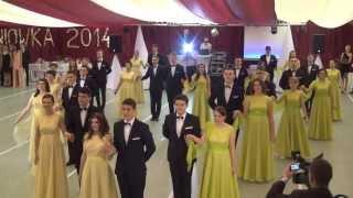 preview picture of video 'Polonez reprezentacyjny 2014 - LO im. Marii Sadzewiczowej w Łochowie'