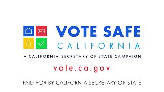 #VoteSafeCA Public Education Campaign Animated TV Ad