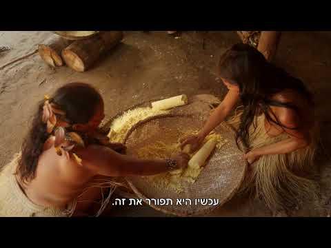 ברזיל - אהרוני וגידי פוגשים ילידים בג'ונגל