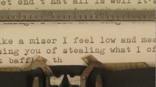 <b>Josh Ritter</b>  New Lover  Official Lyrics Video