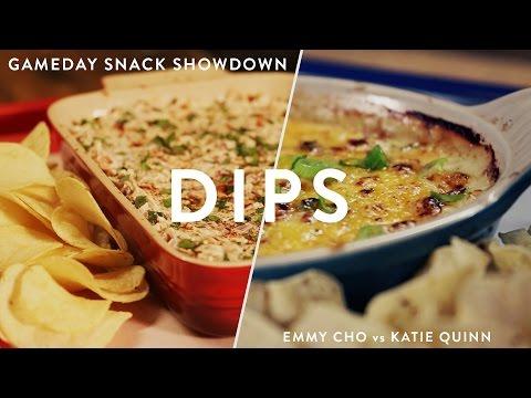Caramelized Onion Dip vs Chicken Enchilada Dip | Gameday Snack Showdown Ep 2