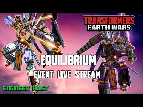 NEWS: Transformers: Earth Wars - Equilibrium Event