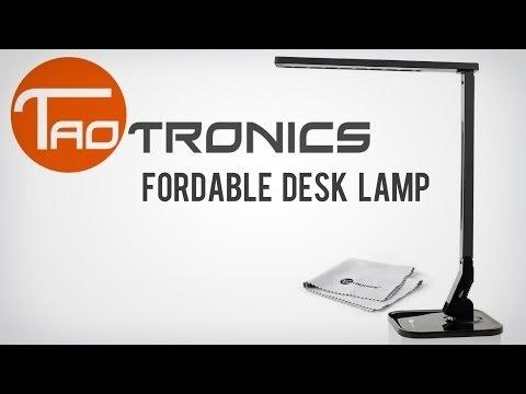 Best Desk Lamp!   TaoTronics TT-DL01 Desk Lamp Review!