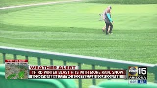 Rain at TPC Scottsdale not expected to be a problem for Waste Management Phoenix Open
