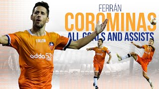 ISL 2019-20 All Goals & Assists: Ferrán Corominas | Goal Machine