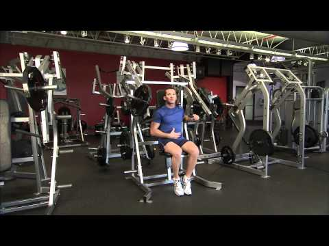 Hammer Strength Plate-Loaded Incline Press Instructions