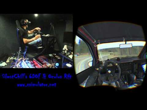 6-DOF motion platform with VR HMDs — Oculus