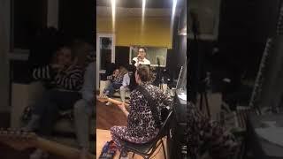 Моника Манучарова Москва репетиция.(вокальная лигп