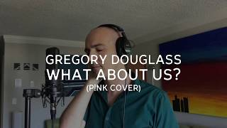 What About Us  Pink Cover By <b>Gregory Douglass</b>