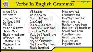 All Verbs अब एक ही वीडियो में (बस 2 घंटे दिल से दो) | Verbs in English Grammar