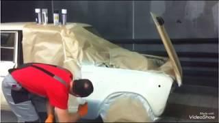 Покраска автомобиля аэрозольным баллончиком. АВТОКОЛОР.М Ремонт в гараже