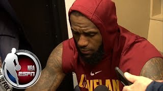 LeBron James on the Cleveland Cavaliers' skid: 'There ain't no progress' | ESPN