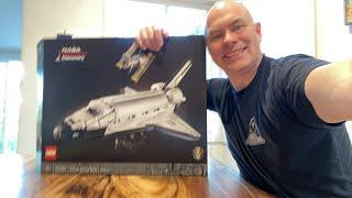 Building Lego Space Shuttle - Part 1