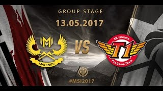 [13.05.2017] GAM vs SKT [MSI 2017][Group Stage]