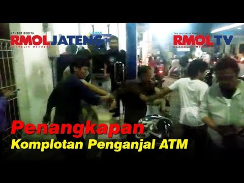 Penangkapan Komplotan Pengganjal ATM di Semarang
