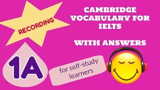 Cambridge Vocabulary For IELTS 1A