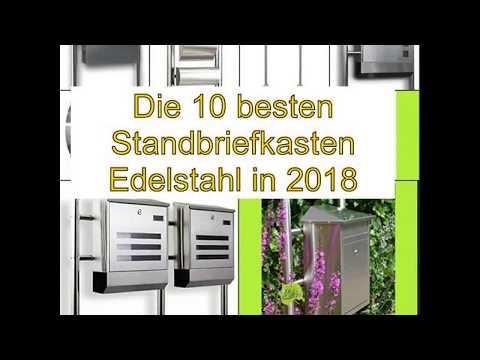 Die 10 besten Standbriefkasten Edelstahl in 2018