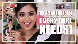 10 MAKEUP PRODUCTS EVERY GIRL NEEDS!