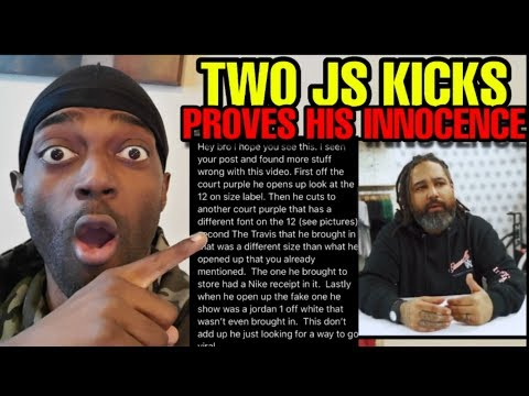 TWO JS KICKS HAS NEW EVIDENCE TO PROVE HIS INNOCENCE?? PLOT TWIST??