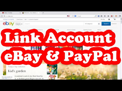 Video Cara Link Account eBay dan PayPal