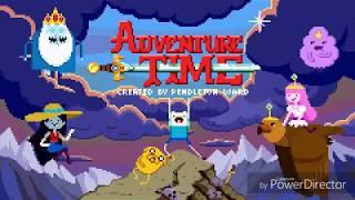 Adventure Time x Minecraft | Diamonds & Lemons | Cartoon Network (на русском)