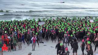 Age Group Swim Start, 2013 Ironman Florida