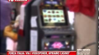 30/01/2014 - FORZA ITALIA: VIA I VIDEOPOKER, APRIAMO CASINO'