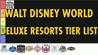 Walt Disney World Tier List | Deluxe Resorts