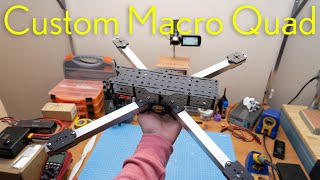 Custom FPV Macro Quad Build // Part 1 - custom carbon fibre frame & fabricating arms