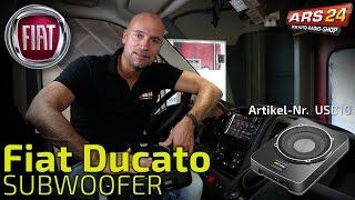 Subwoofer Einbau FIAT Ducato    TUTORIAL    ARS24