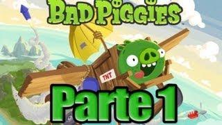 Bad Piggies  Parte 1  Español