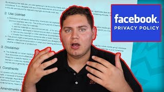 FREE Facebook Privacy Policy in under 5 Minutes