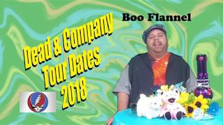 Dead & Company Summer Tour 2018 Dates by Boo Flannel