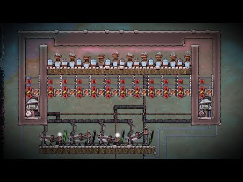 Tapping the Hydrogen Geyser! - Ep  8 - Oxygen Not Included Ranching