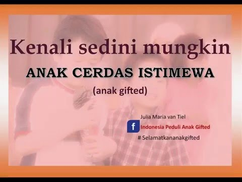 Video Kenali anak gifted