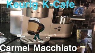 So Easy A 7 Year Old Can Make A Carmel Macchiato + Keurig K-Cafe