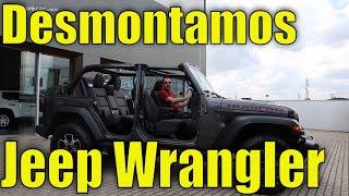 Desmontando o Jeep Wrangler Rubicon