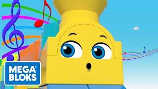 Mega Bloks™ - Go To Sleep, Musical Train   Global Cartoons For Kids   Fisher-Price