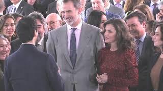 SS.MM. los Reyes inauguran oficialmente la 39 edición de la Feria ARCO