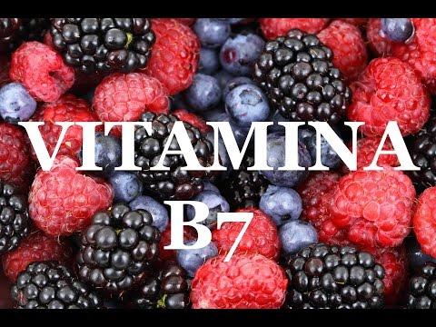 VITAMINA B7 (Biotina) - beneficios, síntomas de deficiencia, alimentos ricos en Biotina