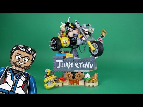 Vidéo LEGO Overwatch 75977 : Chacal et Chopper