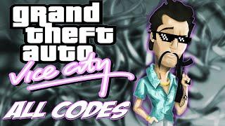 GTA Vice City - ALL CHEATS + Demonstration [PC/PS2/Xbox]