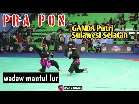 Ganda Putri Sulawesi Selatan PRA PON PENCAKSILAT