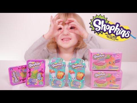 Video [JOUET] Special Shopkins Saisons 2 à 4 - Studio Bubble Tea unboxing Shopkins