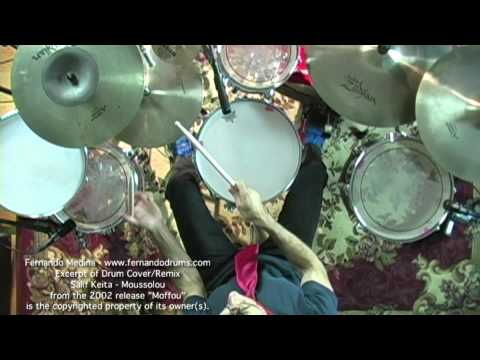 Fernando Medina - Salif Keita - Moussolou (Drum Cover/Remix) Short Excerpt