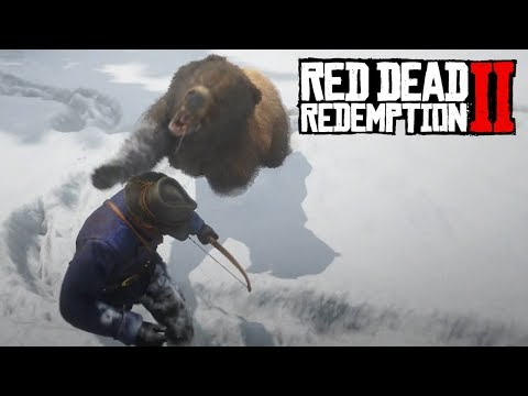 Red Dead Redemption 2  - Bear Hug
