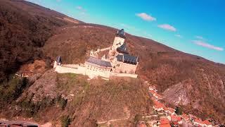 FPV flight over Karlstejn Castle